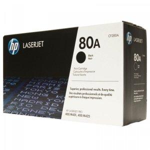 Toner oryginalny HP 80A (CF280A) black do HP LaserJet Pro 400 M401a / Pro 400 M425 / Pro 400 M425dn / Pro 400 M401d / Pro 400 M425dw na 2,7 tys. str.