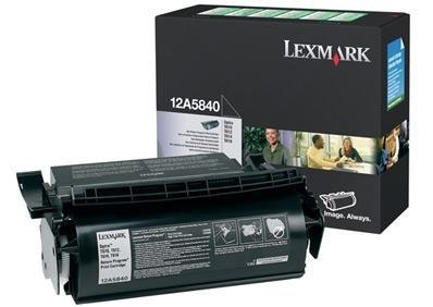 Toner Lexmark 0012A5840 black do Optra T610 / Optra T612 / Optra T614 / Optra T616 na 10 tys. str.