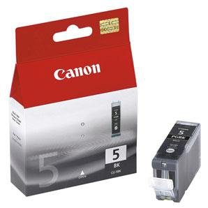 Tusz Canon PGI-5BK black poj. 26ml do PIXMA iP4200 / iP4300 / iP5300 0628B001