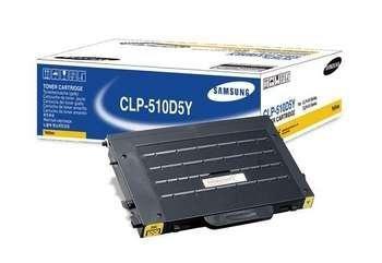 Toner Samsung CLP-510D5Y yellow do CLP-510 / CLP-510 N / CLP-515 / CLP-515N na 5 tys. str.