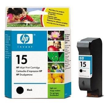 Tusz HP No 15 czarny C6615D poj. 25ml do DeskJet 3820 / DeskJet  920C / PSC 750