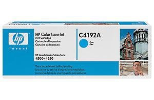Toner HP C4192A cyan do Color LaserJet 4500 / 4550 na 6 tys. str.