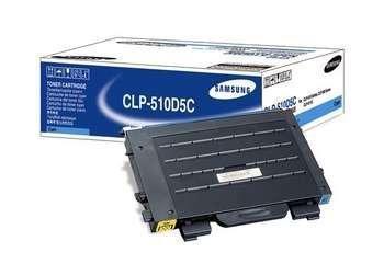 Toner Samsung CLP-510D5C cyan do CLP-510 / CLP-510 N / CLP-515 / CLP-515N na 5 tys. str.