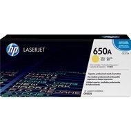 Toner HP 650A do Color LaserJet CP5525, M750 | 15 000 str. | yellow