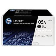 Zestaw dwóch tonerów HP 05A do LaserJet P2035/2055 | 2 x 2 300 str. | black