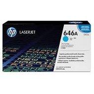 Toner HP 646A do Color LaserJet CM4540   12 500str.   cyan