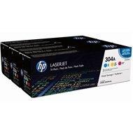 Zestaw trzech tonerów HP 304A do LJ Pro CP2025 ,CM2320 | 3 x 2 800 str. | CMY