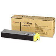 Toner Kyocera TK-520Y do FS-C5015N | 4 000 str. | yellow