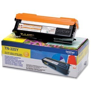 Toner oryginalny Brother TN325Y yellow do HL-4140CN / HL-4150CDN / HL-4570CDW / DCP-9055CDN / DCP-9270CDN / MFC-9460CDN  na 3,5 tys. str. TN-325Y