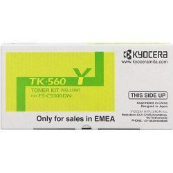 Toner oryginalny Kyocera TK-560Y do FS-5300 /FS-5350 | 10 000 str. | yellow
