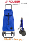 Wózek na zakupy IMX005 LOGIC DOS+2 kolor AZUL, firmy Rolser