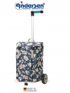 Wózek na zakupy Unus Basil-Magnolia niebieski, firmy Andersen