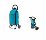Wózek na zakupy Freezer Click jasnoniebieski, firmy Aurora