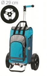 Wózek na zakupy Tura 136 Hydro turkus, firmy Andersen