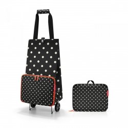 Torba na kółkach Foldable Trolley kolor Mixed Dots, firmy Reisenthel