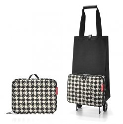 Torba na kółkach Foldable Trolley kolor Fifties Black, firmy Reisenthel