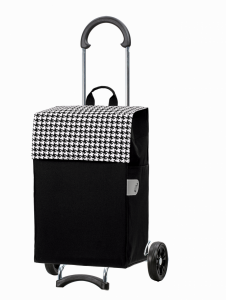 Wózek na zakupy Scala Iko czarny, firmy Andersen