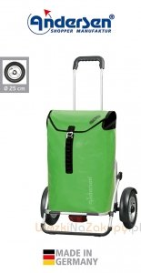 Wózek turystyczny Royal Plus 143 Ortlieb zieony, firmy Andersen