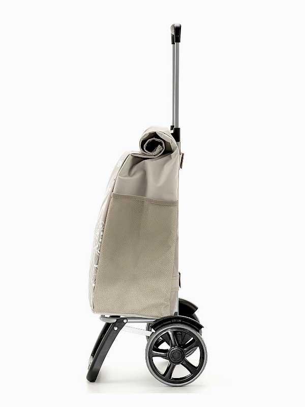 Wózek na zakupy Rolling Thermo brązowy, firmy Gimi