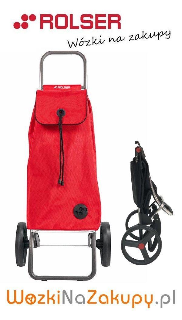 Wózek na zakupy IMX141 Logic RSG kolor ROJO, firmy Rolser