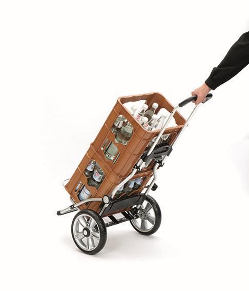 Wózek na zakupy Royal 167 Ortlieb czarny, firmy Andersen