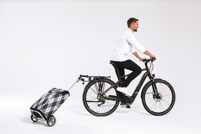 Wózek na zakupy Unus Mats niebieski, firmy Andersen