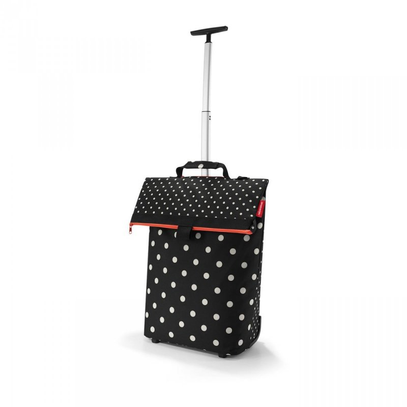 Torba na kółkach Trolley M kolor Mixed Dots, firmy Reisenthel