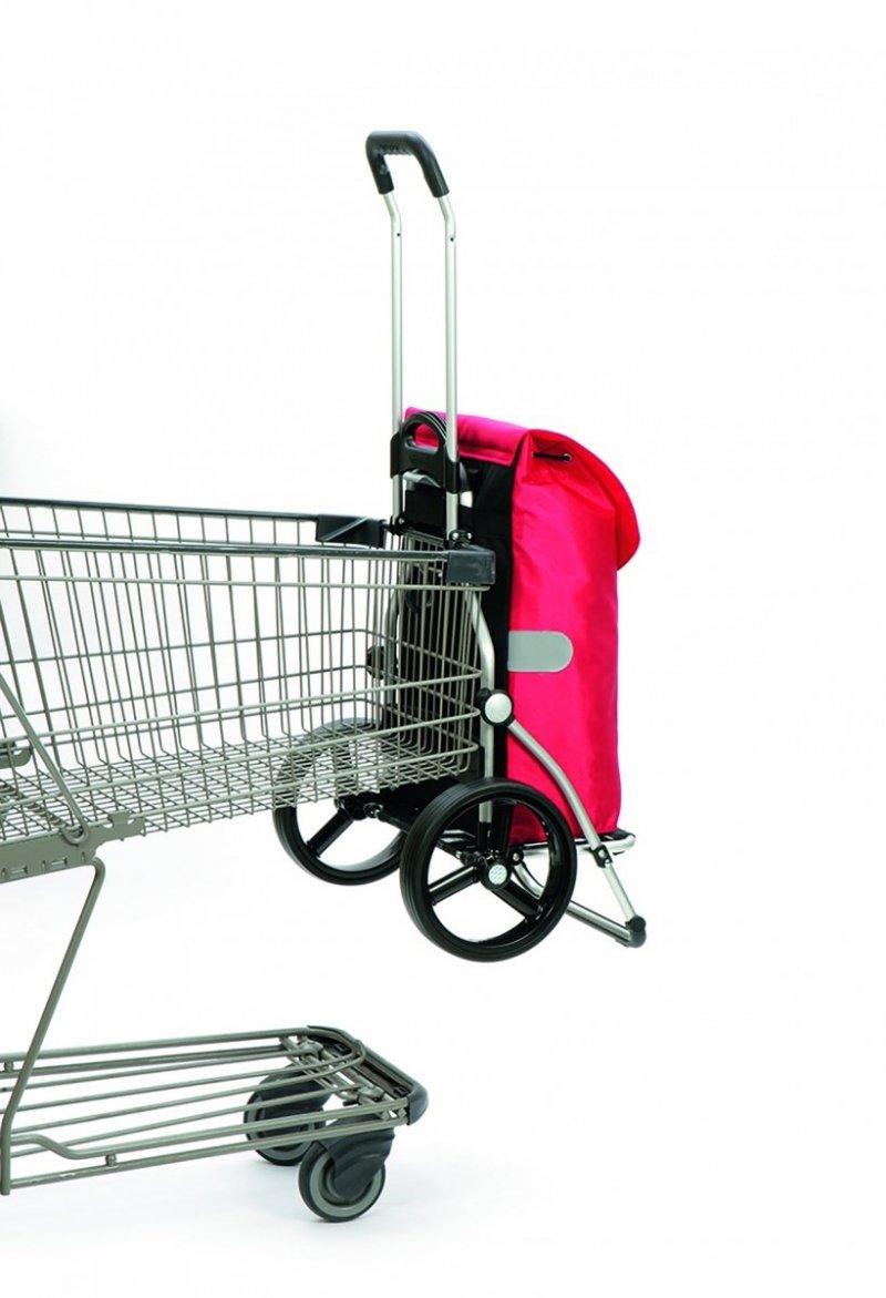 Wózek na zakupy Royal 166 Dots czarny, firmy Andersen