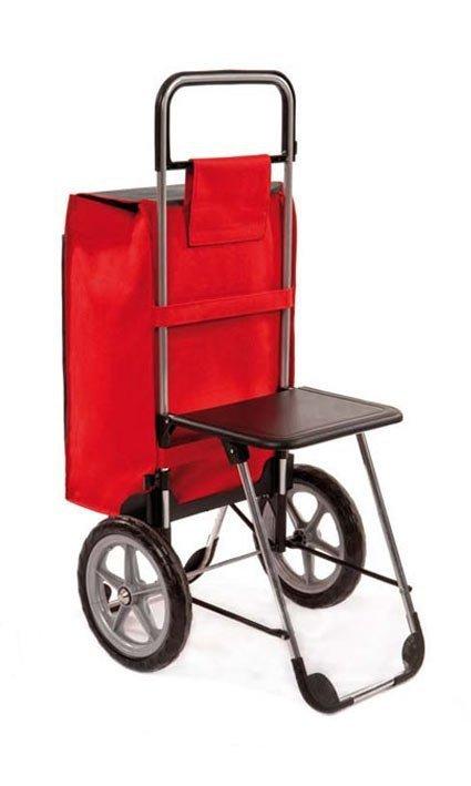 Wózek turystyczny Relax granatowy, firmy Aurora