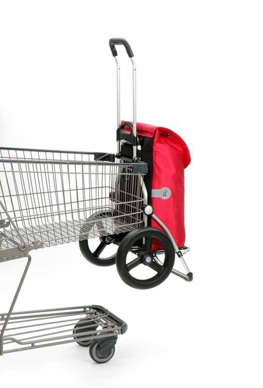 Wózek na zakupy Royal 164 Ortlieb czerwony, firmy Andersen