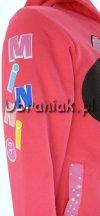 Bluza Myszka Minnie z kapturem różowa