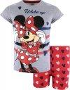 Piżama Myszka Minnie Wake Up! szara