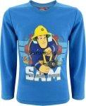 Bluzka Strażak Sam niebieska