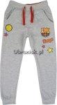 Spodnie Dresowe chłopięce FC Barcelona szare