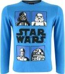 Bluzka STAR WARS Postacie niebieska