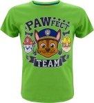 T-shirt Psi Patrol TEAM zielony