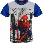 T-shirt Spiderman NYC niebieski