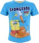 T-shirt SpongeBob niebieski