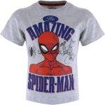 T-shirt Spiderman Amazing szary