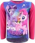 Bluzka Kucyki Pony Friends róż