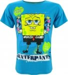 T-shirt Sponge Bob Kanciastoporty niebieski