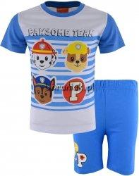 Piżama letnia Psi Patrol niebieska