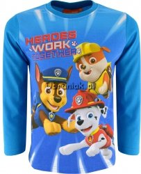 Bluzka Psi Patrol Heroes turkusowa