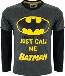 Bluzka Mów mi Batman grafitowa
