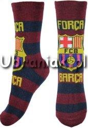 Skarpetki FC Barcelona bordowo-granatowe