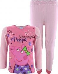 Piżama Świnka Peppa jasno różowa