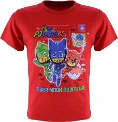 T-shirt PJ Masks Pidżamersi czerwony