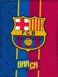 Koc polarowy FC Barcelona 150x200