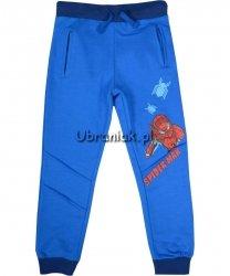 Spodnie Spiderman Salut niebieskie