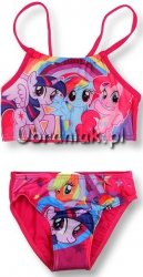 Strój kąpielowy Kucyki Pony różowy